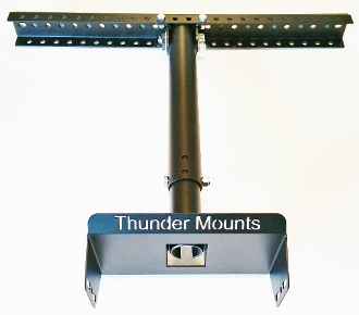 Thunder Mounts are the Best Solution for mounting garage door openers and garage door tracks.